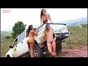 Секс по русски на сеновале видео