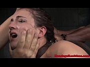 video bokep Threeway Facefucked Sub Gags On Maledom Cock