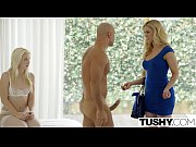 Cherie Deville And Samantha Rone First Anal Try On Www.TUSHY.com