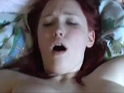 busty redhead deutsch girl with big natural boobs sucking and fucking