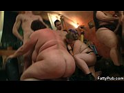 Fat chick with massive tits gets fucked at the bbw party