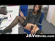Hojo Maki toying her pussy during an office meeting view on xvideos.com tube online.