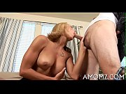 Sexy mature in a banging action