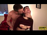 Real british sub takes a load down her throat