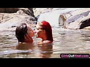 girls out west – aussie lesbian babes give rimj…