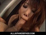 Picture Japanese mistress sucks her boytoys off