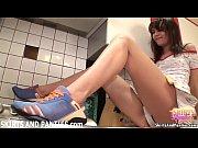 Petite 18yo Lara flashing her