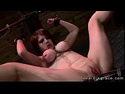 Chained and gagged redhead Vel