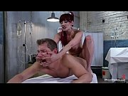 Picture Maitresse Madeline brutal handjob and foot w...