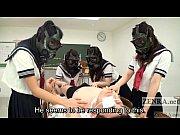 CFNM Gas Mask...