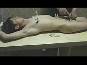 Cute Asian Slave Boy With Pain Clips