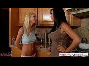 Picture Lesbians Jelena Jensen and Sammie Rhodes rub...