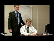 gorgeous gay gets booty penetrated in the office – Gay Porn Video