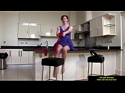 mature milf in stockings stripping for this lucky guy