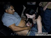Skinny Pale Chick Anal Theater
