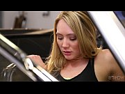 Picture AJ Applegate Gets Facialed In An Olds Mobile