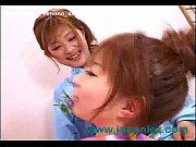 Japanese Lesbian Sluts Wearing Kimonos Ge ...