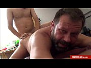 Daddy bear fucked by his lover