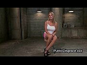 Picture Tied up busty blonde hard flogged and anal p...