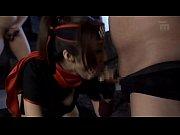 【エロ動画】デカパイ女忍者が捕まって無理やり犯される |