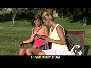 Old mother pleases her son's GF with a dildo, r ahr Video Screenshot Preview
