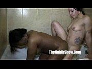 bathtub water licking pussy sh