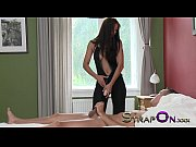 Picture StrapOn Super hot dominant babe pegging fella aft...