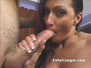 Huge boob experienced cougar t