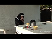 Picture Young french nun fucked hard in threesome wi...