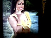 Cum tribute indian actress Sana Khan