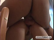 Picture Big cock surprises two hot brunettes playing with...