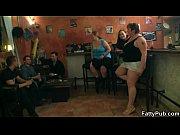 Three naugthy fatties have fun in the bar
