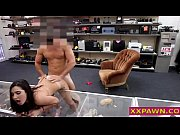 Picture Hot Brunette Banged Out In PawnShop