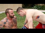 manroyale sexy guys flip fuck at the park – Gay Porn Video