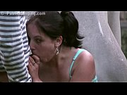 Picture Public STREET gangbang threesome with a youn...