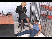 Krissy Lynn footsex in pantyho
