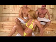Picture Cathy Heaven gets a Double Dick Down in the...