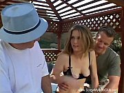 Picture Redhead Swinger Wife Outdoor 3some