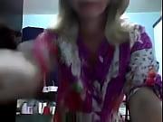 Casada exibicionista na webcam