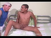 str8 young Brazilian rimmed by a dude.