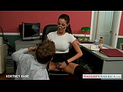 Picture Office babe in glasses Kortney Kane fucking