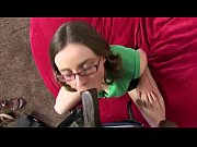 Picture Nerdy Girl Gets Her Hairy Pussy Pounded by B...