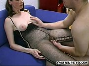 Picture Busty and hairy amateur Milf blowjob, titjob...