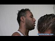 Huge Black Gay Cock for Tiny White Boy 24
