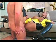 Picture Fucking in latex gloves stilettoes and stock...