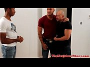 Gaysex interracial jocks threesome fun