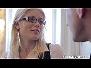 Picture She Is Nerdy - Cumshot on glasses makes nerd...