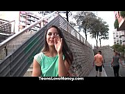 Picture TeensLoveMoney - Spanish Waitress Fucked For...