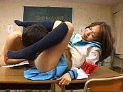 団長?の女生徒を教室で手マン責めからバックでハメる!