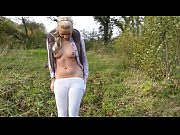 Picture Hot blonde hiking creampie